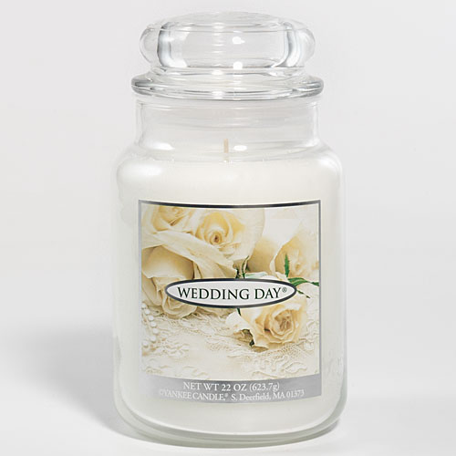 187003 Wedding Day Large Jar