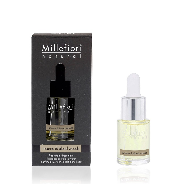 Millefiori Natural Incense & Blond Woods Water Soluble 15 ml