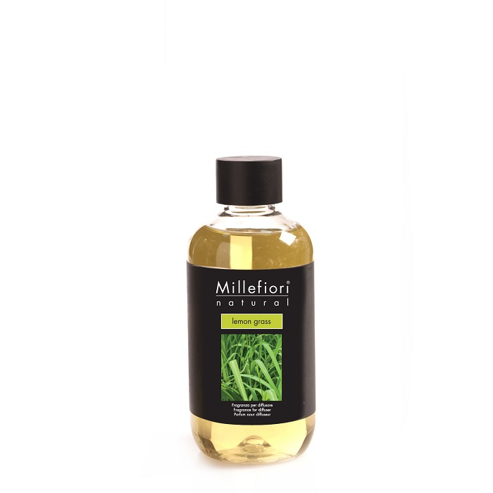 Millefiori Natural Lemon Grass Diffuser 250 ml Refill