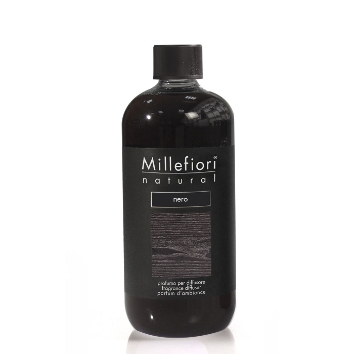 Millefiori Natural Nero Diffuser 500 ml Refill