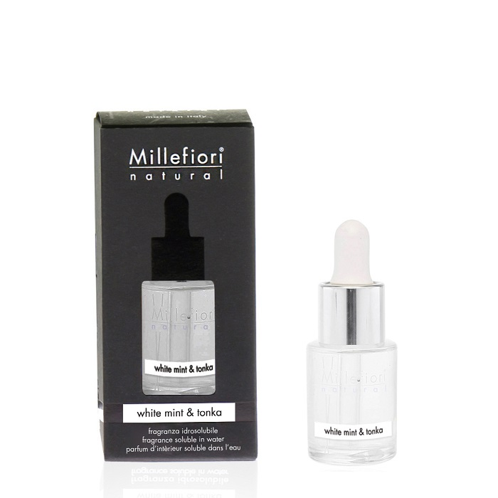 Millefiori Natural White Mint & Tonka Water Soluble 15 ml
