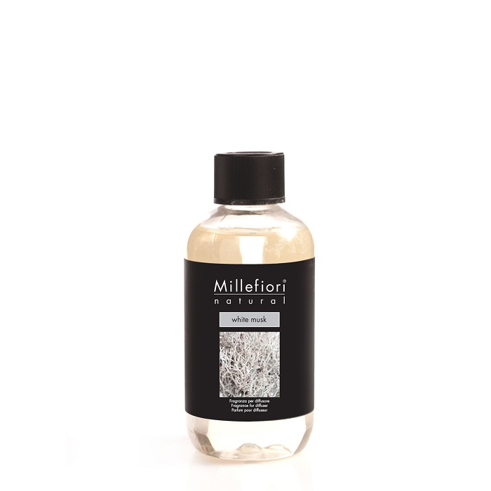Millefiori Natural White Musk Diffuser 500 ml Refill