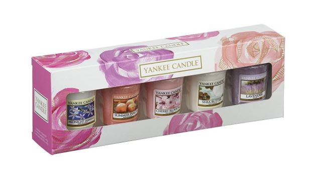 199105 Mother's Day 5 Votive Giftset