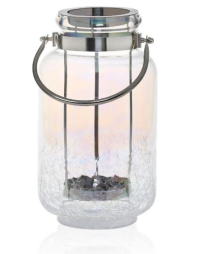 Yankee Candle Pearlescent Crackle Large Jar Lantern