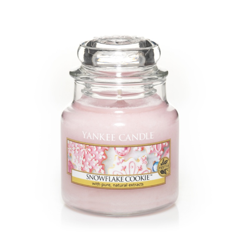171805 Snowflake Cookie Small Jar