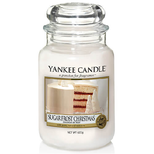 Yankee Candle Sugar Frost Christmas Large Jar