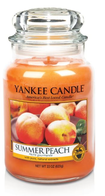 173603 Summer Peach Large Jar