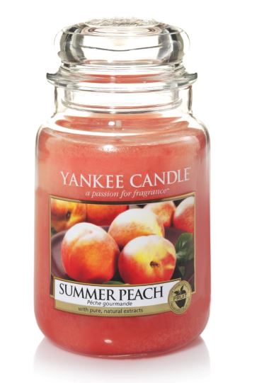 173604 Summer Peach Medium Jar