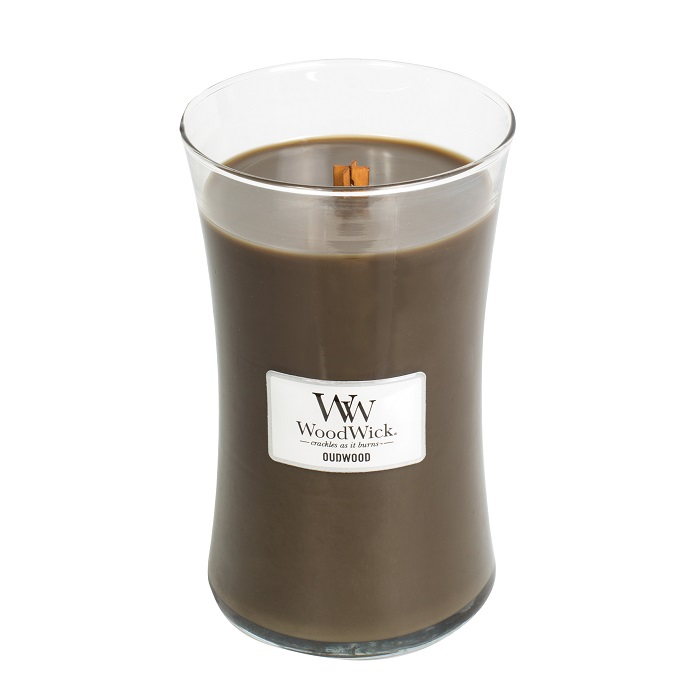 WoodWick Oudwood Large Jar Candle