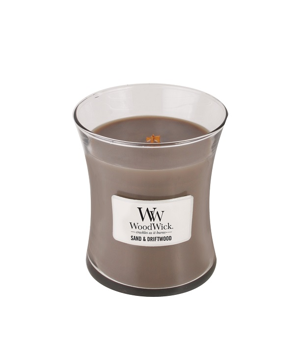 WoodWick Sand & Driftwood Medium Jar Candle