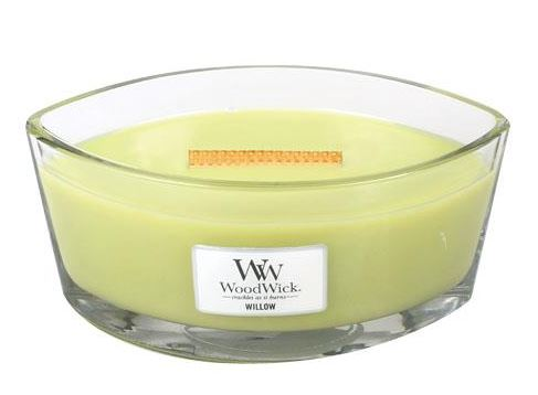 WoodWick Willow Ellipse Hearthwick Jar Candle