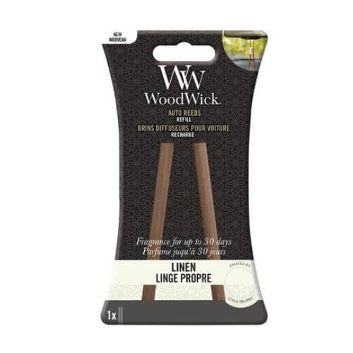 WoodWick Auto Reed Refill Linen