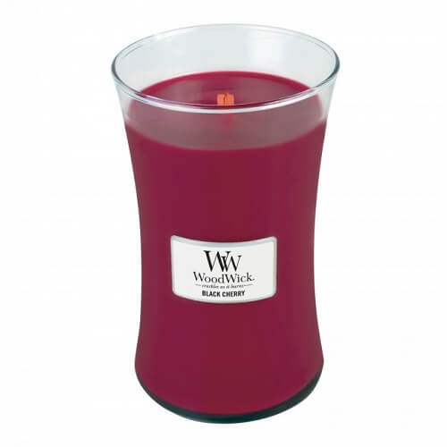 WoodWick Black Cherry Large Jar Candle