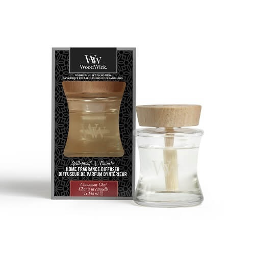 WoodWick Cinnamon Chai Spill-Proof Home Fragrance Diffuser