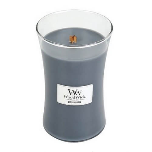 WoodWick Evening Onyx Large Jar Candle