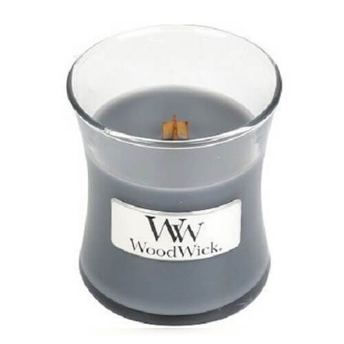 WoodWick Evening Onyx Mini Jar Candle