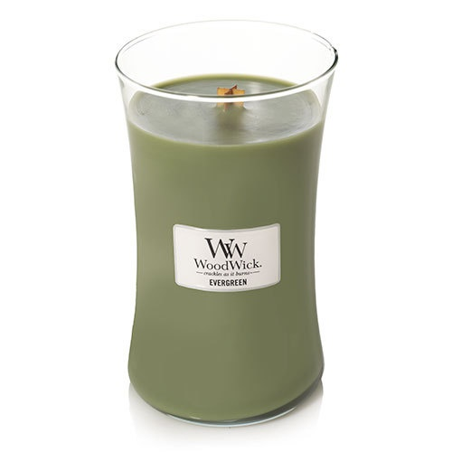 WoodWick Evergreen Large Jar Candle