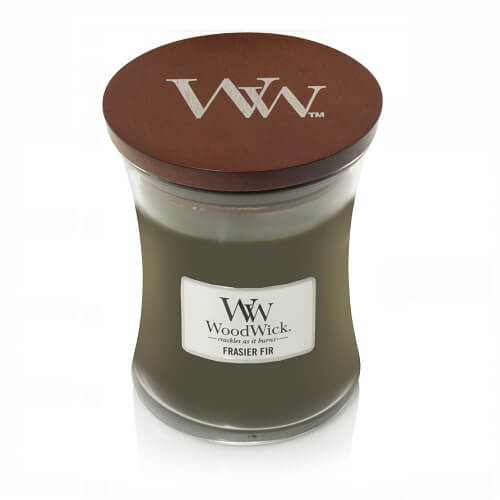 WoodWick Frasier Fir Medium Jar Candle
