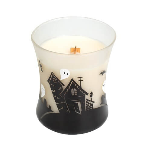WoodWick Halloween Haunted House Medium Jar Candle