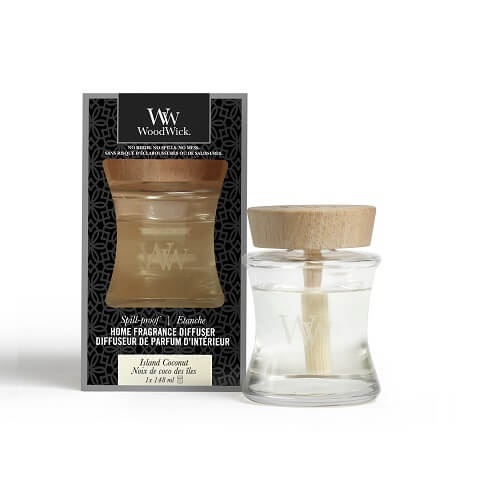 WoodWick Island Coconut Spill-Proof Home Fragrance Diffuser