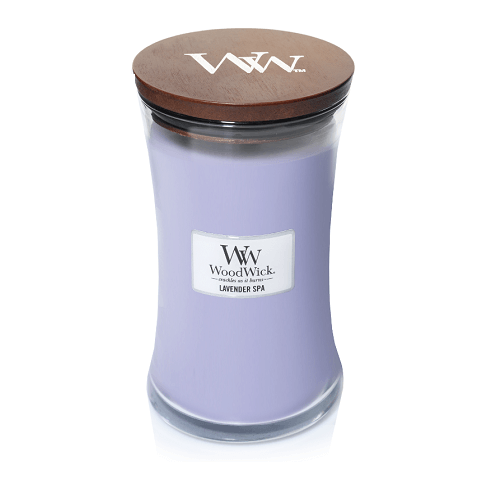 WoodWick Lavender Spa Large Jar Candle