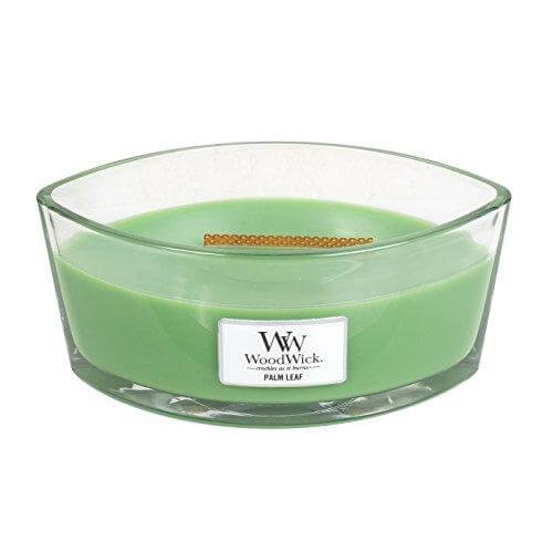 WoodWick Palm Leaf Ellipse Hearthwick Jar Candle