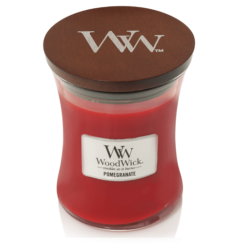 WoodWick Pomegranate Medium Jar Candle