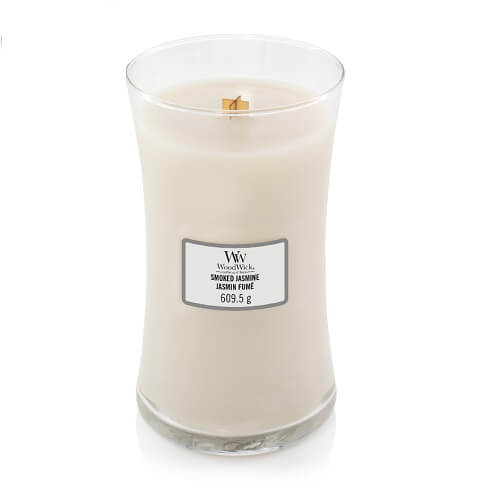 WoodWick Smoked Jasmine Large Jar Candle