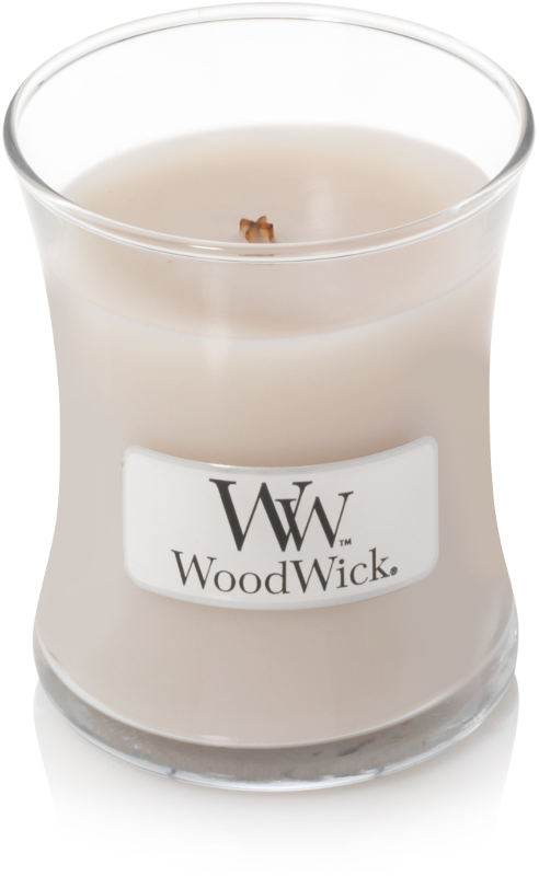 WoodWick Smoked Jasmine Mini Jar Candle