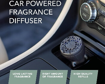 Car Powered Fragrance Diffuser