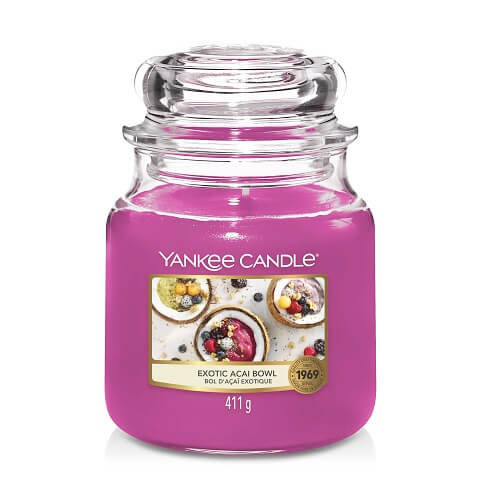 Yankee Candle Exotic Acai Bowl Medium Jar