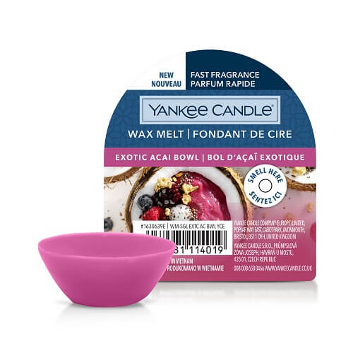 Yankee Candle Exotic Acai Bowl New Wax Melt
