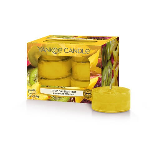 Yankee Candle Tropical Starfruit Tea Lights 12 st