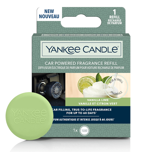 Yankee Candle Vanilla Lime Car Powered Refill