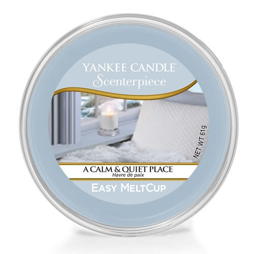 Yankee Candle A Calm & Quiet Place Scenterpiece Easy Meltcup