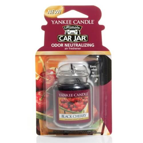 Yankee Candle Black Cherry Car Jar Ultimate