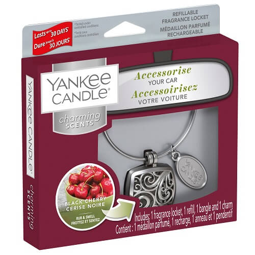 Yankee Candle Black Cherry Square Charming Scents