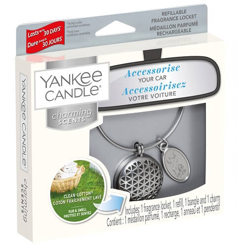 Yankee Candle Clean Cotton Geometric Charming Scents