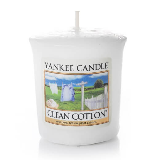 Yankee Candle Clean Cotton Votive Sampler