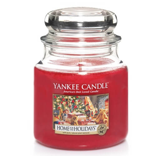 Yankee Candle Home for the Holidays Medium Jar