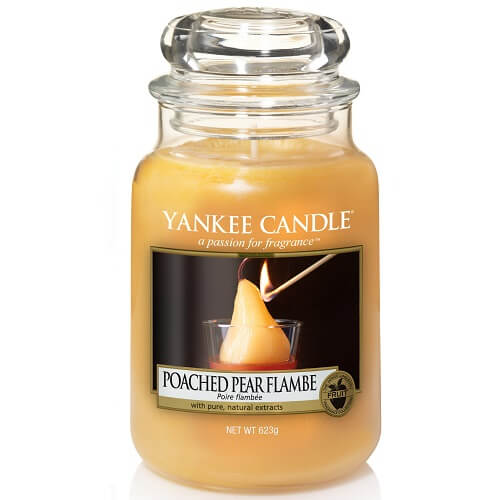 Yankee Candle Poached Pear Flambe Large Jar