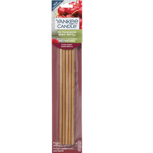 Yankee Candle Black Cherry Pre-Fragranced Reed Diffuser