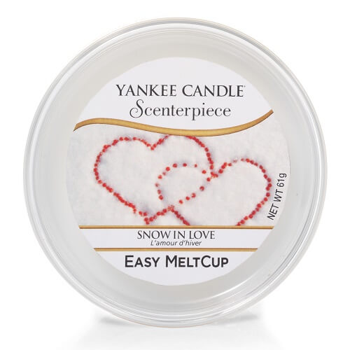 Yankee Candle Snow in Love Scenterpiece Easy Meltcup