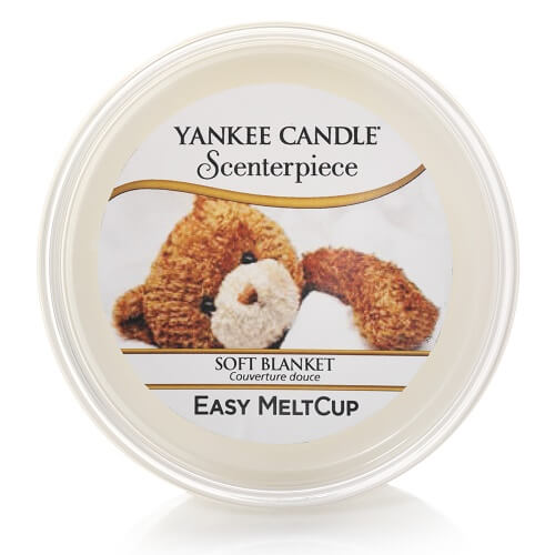 Yankee Candle Soft Blanket Scenterpiece Easy Meltcup