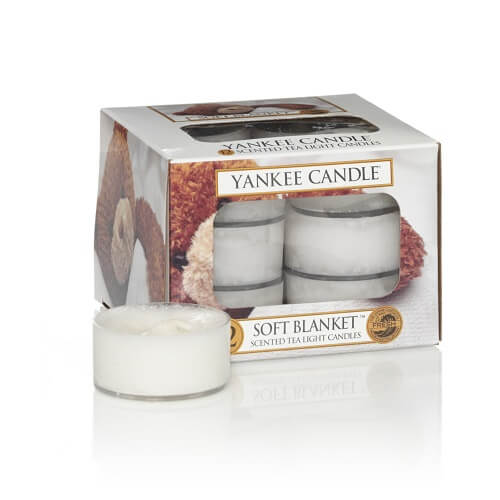 Yankee Candle Soft Blanket tea lights 12 st