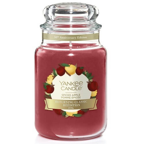 Yankee Candle Spiced Apple Large Jar