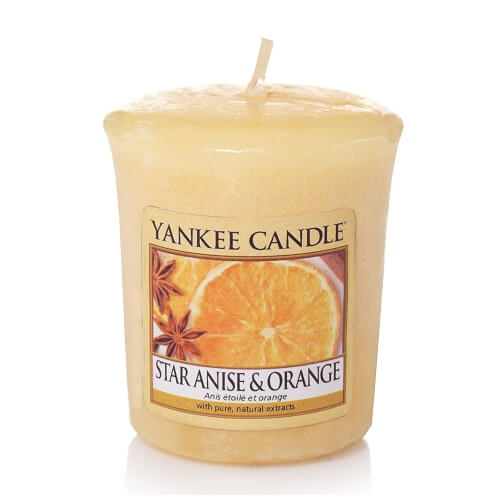 Yankee Candle Star Anise & Orange Votive Sampler