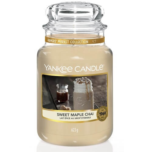 Yankee Candle Sweet Maple Chai Large Jar