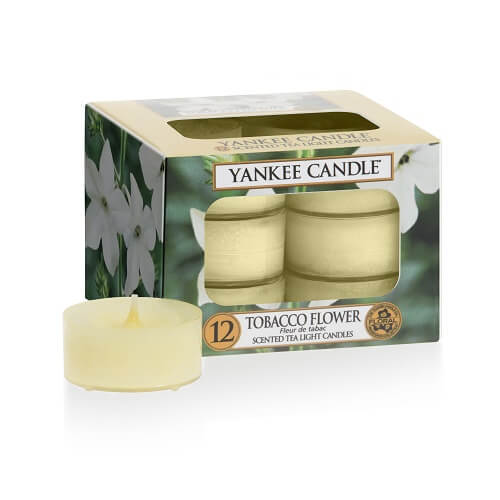 Yankee Candle Tobacco Flower Tea Lights 12 st